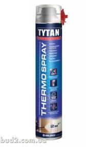 Утеплитель полиуретановый ТИТАН Thermospray 870 мл