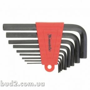 Набор ключей MTX 2,0-12мм 9 шт (112229)