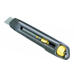 Нож интерлок с выдвиг.лезвием и отламыв.сегменатми. 18х165 Стэнли(0-10-018)