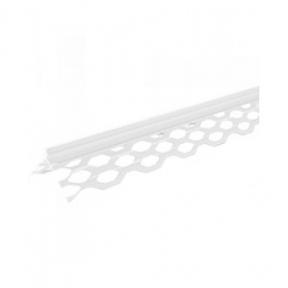 Уголок для мокрой штукатурки пластиковый (2,5м)