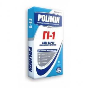 Гидроизоляция АКВА-БАРЬЕР Polimin (Полимин)  ГI-1 (25кг)